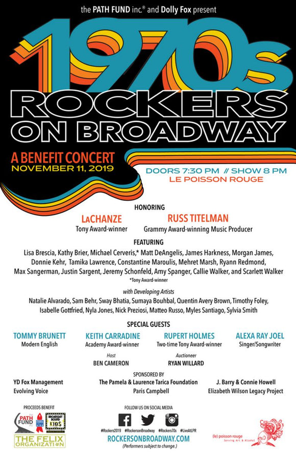 Rockers On Broadway Poster - 70s