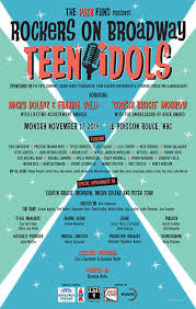 Rockers On Broadway Poster - Teen Idols