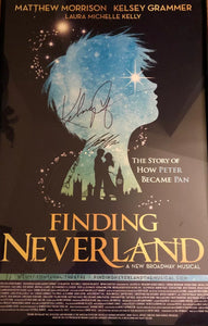 Finding Neverland Window Card