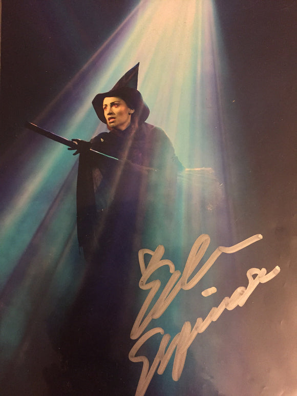 WICKED Signed Photo -Eden Espinosa - Broadway Bazaar