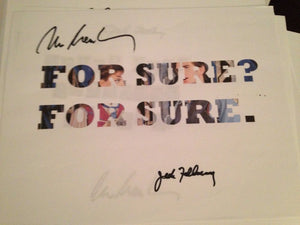 For Sure, For Sure Word Art Signed! - Broadway Bazaar