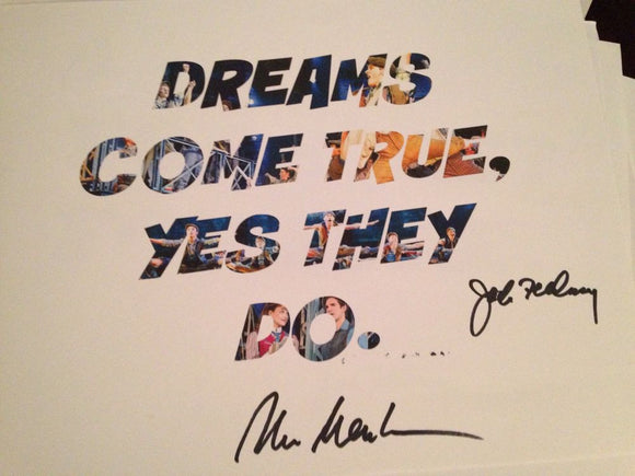 Dreams Come True...Word Art Signed! - Broadway Bazaar