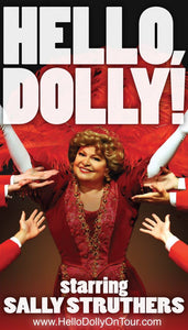 Hello, Dolly! Playbill Starring Sally Struthers - 50Th Anniversary Tour