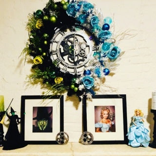 Wicked Wreath & Framed Art Portraits