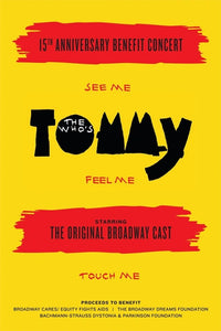 Rockers On Broadway Poster - Tommy 15th Anniversary Reunion