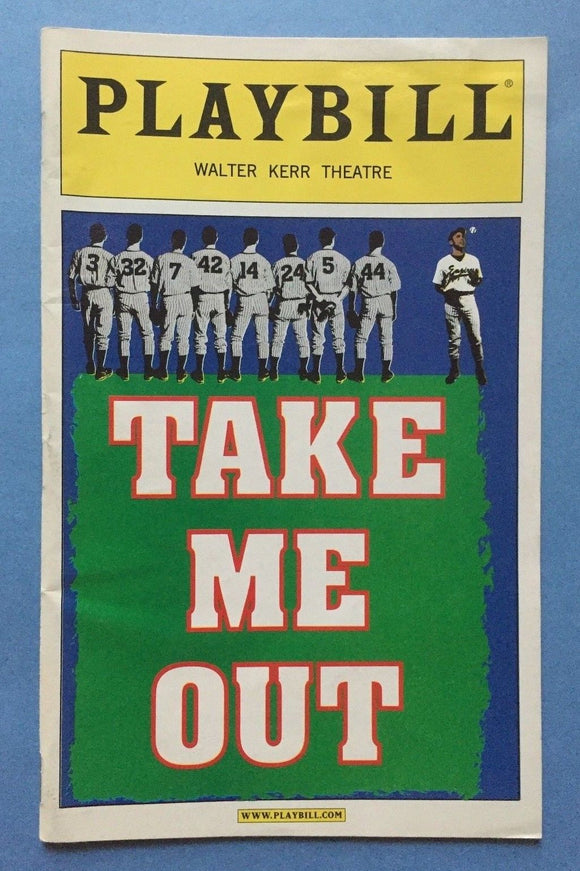 Take Me Out Playbill - Broadway Bazaar