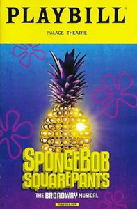 Spongebob Squarepants The Musical Limited Edition Opening Night Playbill