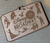 Broadway Wooden Ornaments