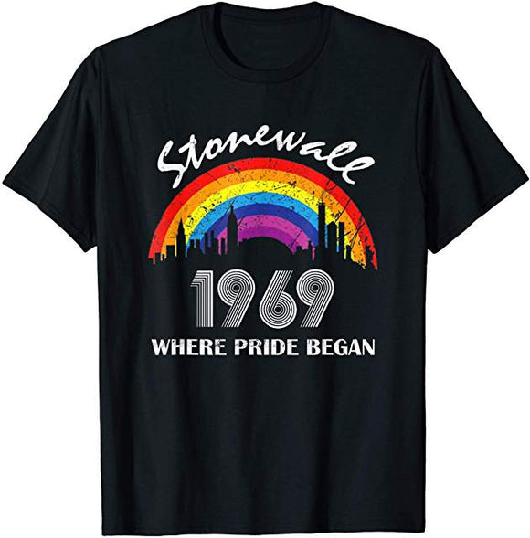Stonewall Where Pride Began T-shirt