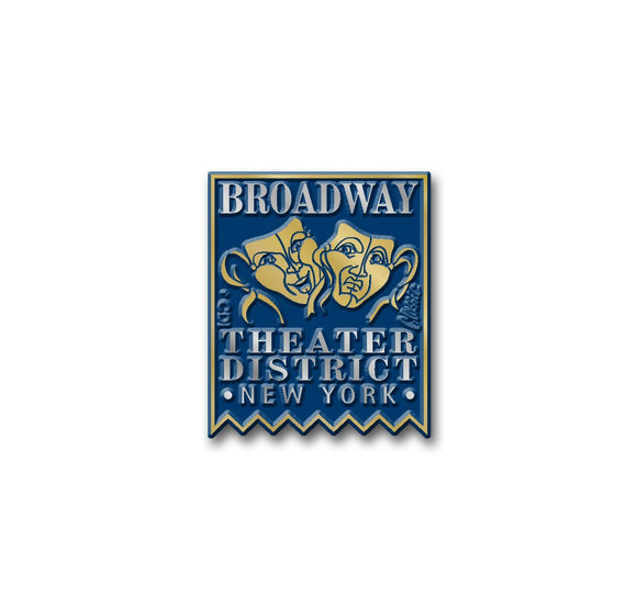 Broadway Theater District Banner Magnet