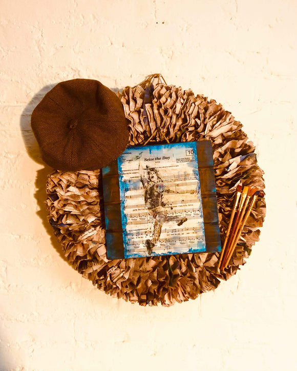 Newsies Wreath