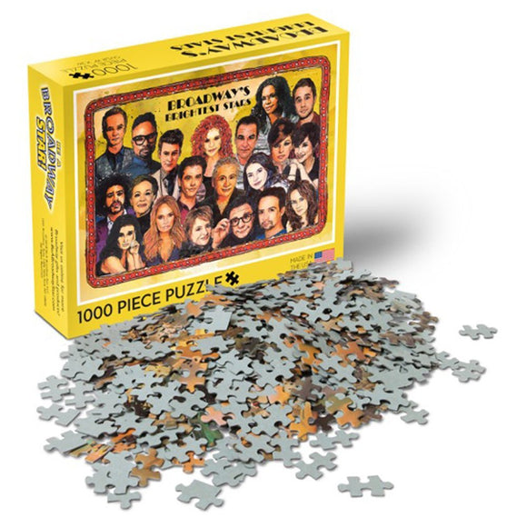 Broadway's Brightest Stars Puzzle