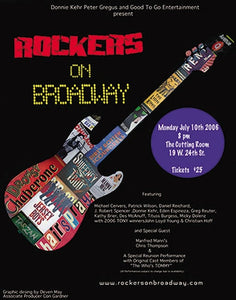 Rockers On Broadway Poster - 20th Anniversary