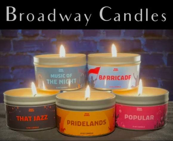 Broadway Candles
