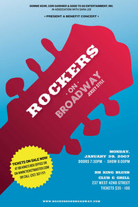 Rockers On Broadway Poster - Jersey Style