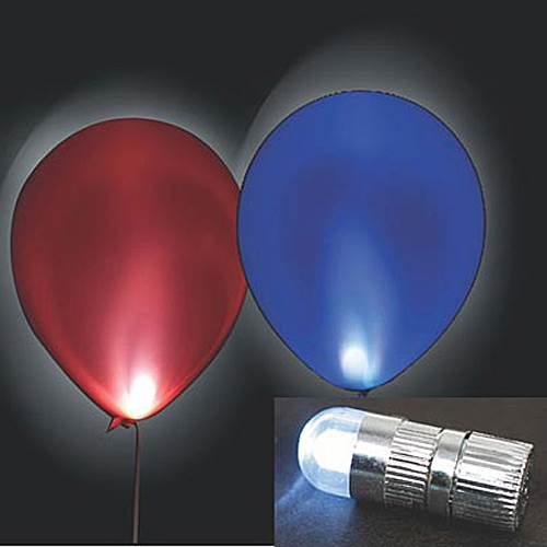 Radiant LED Balloon Lights