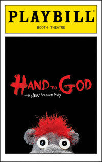 Hand To God Playbill