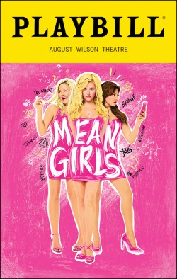 Mean Girls Playbill