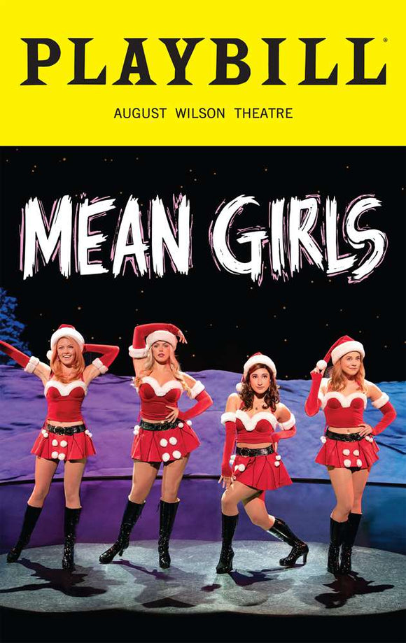 Mean Girls Holiday Playbill