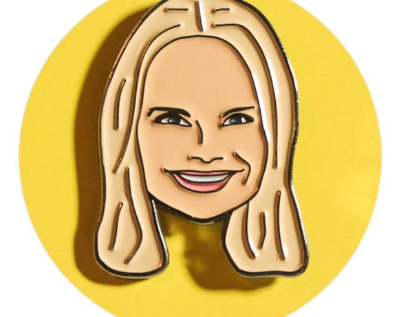 Broadway Celebrity Lapel Pin