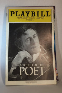 A TOUCH OF THE POET Playbill - Broadway Bazaar