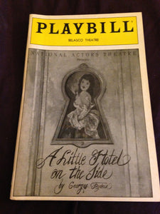 A LITTLE HOTEL ON THE SIDE Playbill - Broadway Bazaar
