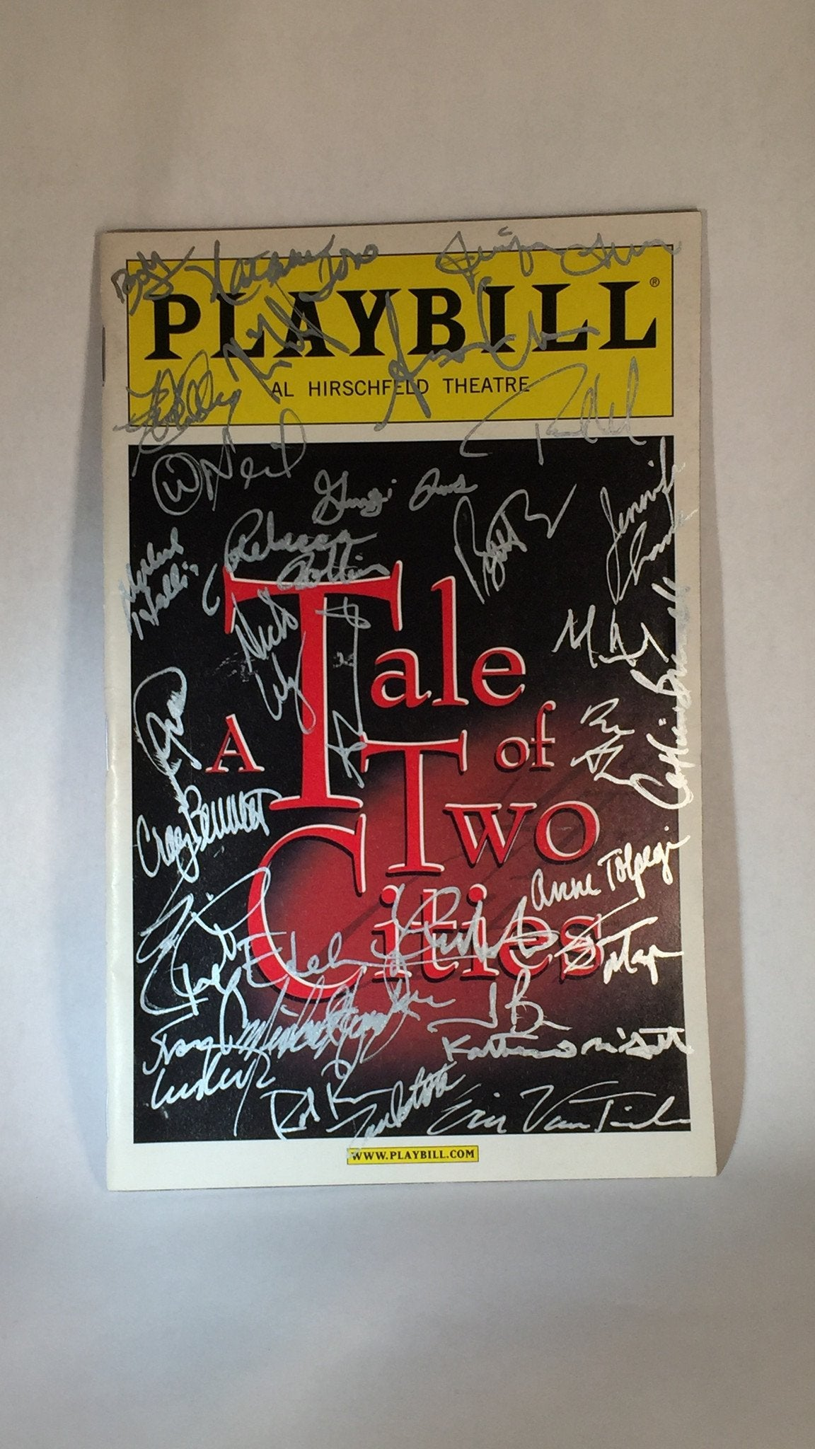A TALE OF TWO CITIES Playbill - Broadway Bazaar  - 2
