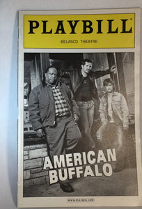 AMERICAN BUFFALO Playbill - Broadway Bazaar