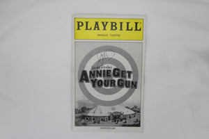 Annie Get Your .... Playbill Signed - Broadway Bazaar