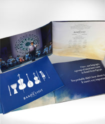 The Band's Visit Souvenir Program
