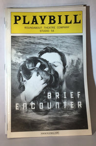 BRIEF ENCOUNTER Playbill - Broadway Bazaar