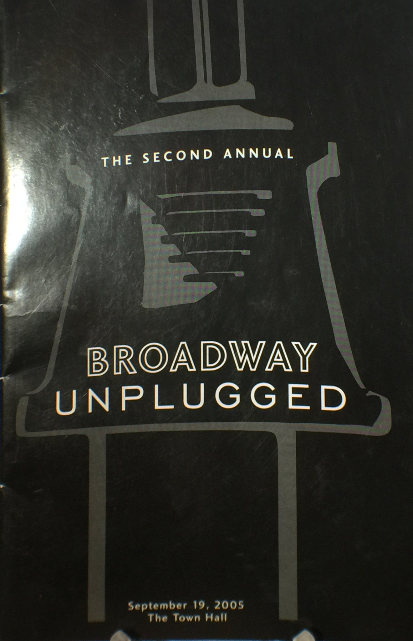 BROADWAY UNPLUGGED Program - Broadway Bazaar