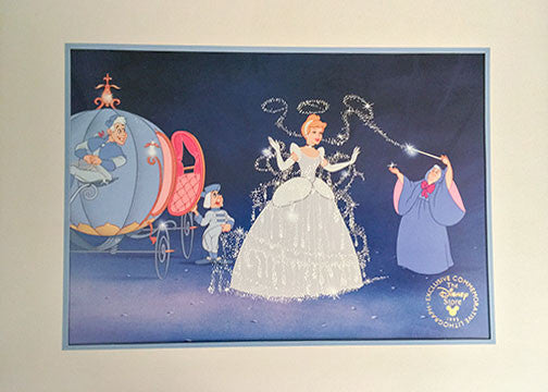 Disney Animation Feature Film Memorial Lithograph Prints