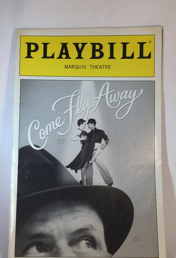 COME FLY AWAY Playbill - Broadway Bazaar