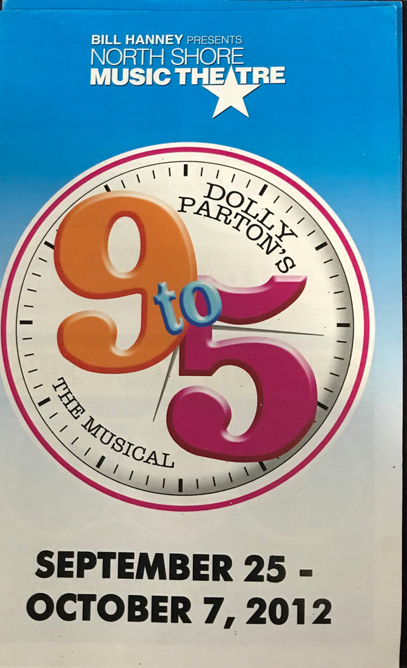 9 to 5 Playbill