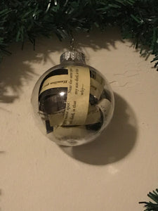 Hamilton Christmas Ornament.Hamilton The Revolution Ornament Limited Edition