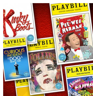 Playbill Opening Night Subscription