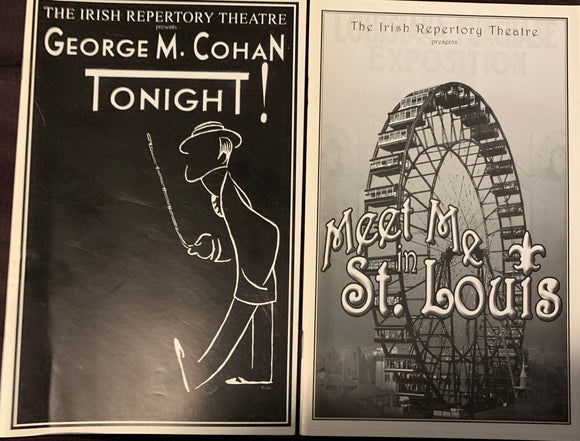 Playbills From 1950's - 2000