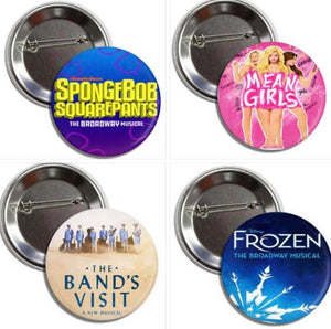 Tony Nominated Best Musical Buttons 2018