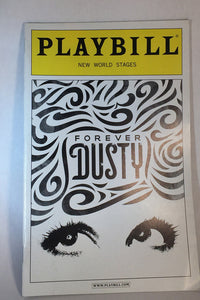 FOREVER DUSTY Playbill - Broadway Bazaar