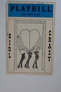 Girl Crazy Playbill - Broadway Bazaar