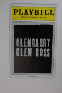 Glengarry Glen Ross Playbill - Broadway Bazaar