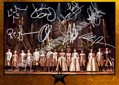 Hamilton The Musical - Signed Photos - Broadway Bazaar