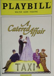 A Catered Affair Playbill