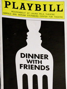 Dinner With Friends Playbill