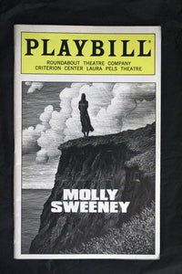 Molly Sweeney Playbill - Broadway Bazaar
