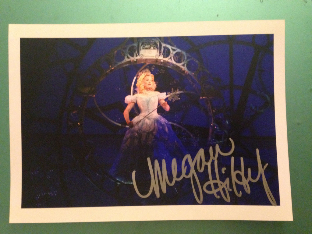 WICKED Signed Photo - Megan Hilty - Broadway Bazaar