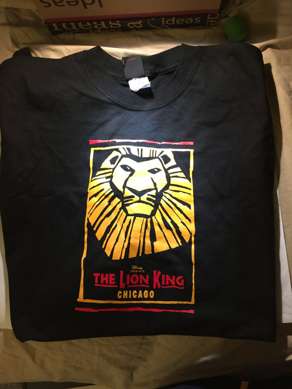 THE LION KING Chicago T-shirt - Broadway Bazaar