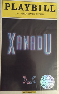XANADU Playbill Opening Night - Broadway Bazaar