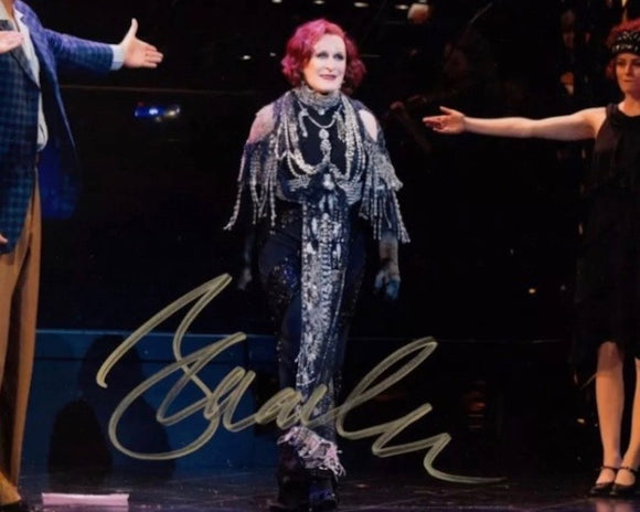 Broadway Stars 8x10 Autographed Photo